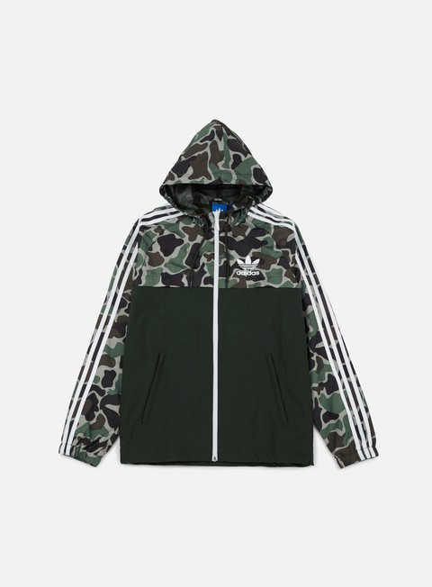 Hooded Jackets Adidas Originals Camo Rev Windbreaker
