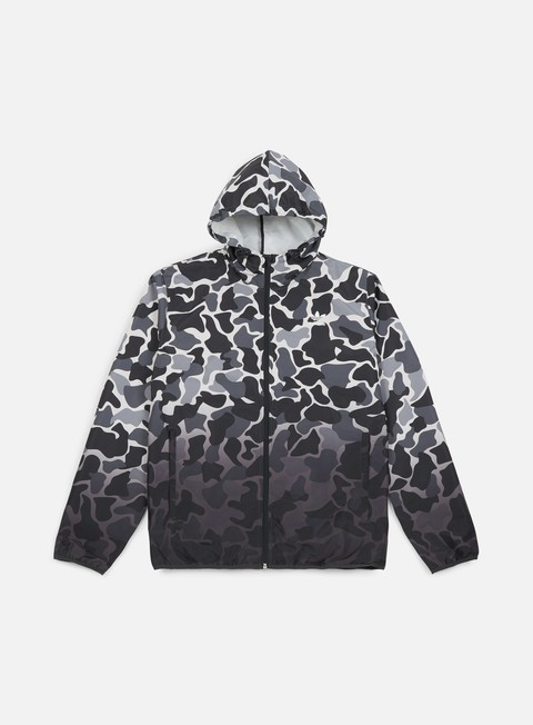 Hooded Jackets Adidas Originals Camo Windbreaker