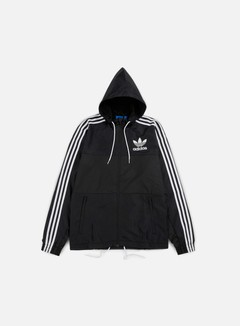 Adidas Originals - CLFN Windbreaker, Black 1