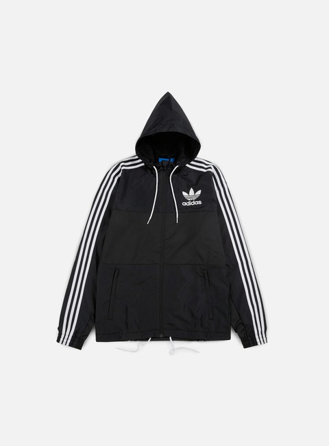 giacche adidas originals clfn windbreaker black