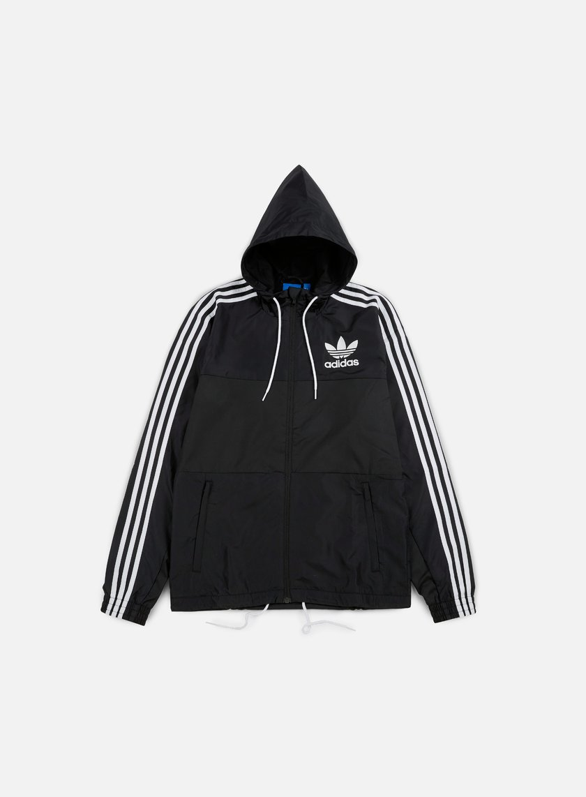Adidas Originals - CLFN Windbreaker, Black
