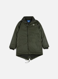 Adidas Originals - Fallen Future Long Down Parka, Night Cargo 1