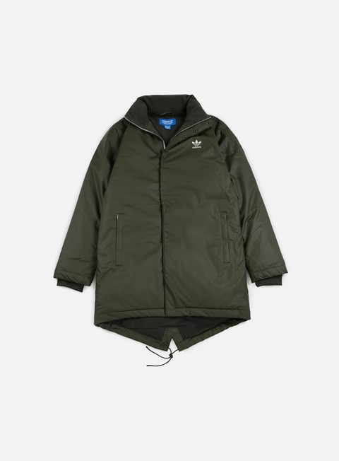 giacche adidas originals fallen future long down parka night cargo