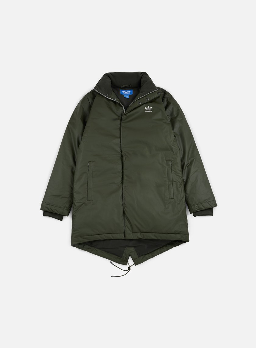 Adidas Originals - Fallen Future Long Down Parka, Night Cargo