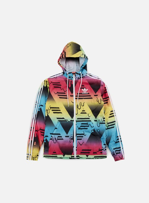 giacche adidas originals itasca windbreaker multi color