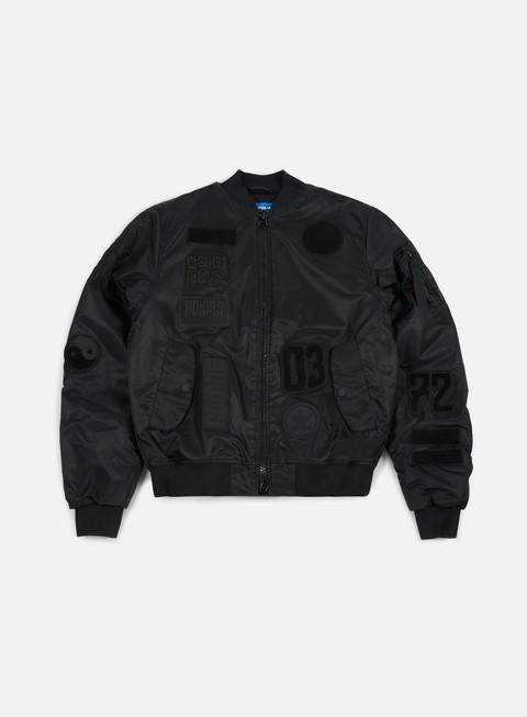 Bomber Adidas Originals Logo Padded Bomber Jacket
