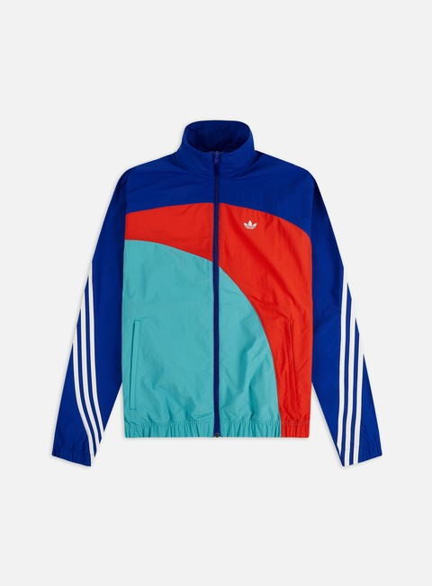 Light Jackets Adidas Originals Off Center Windbreaker
