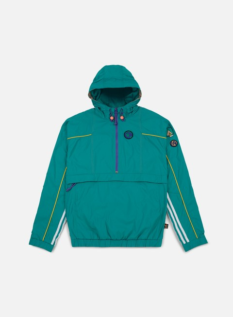 giacche adidas originals pharrell williams hu hiking packable windbreaker eqt green powder purple