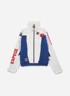 Adidas Originals - Pharrell Williams Hu Race FZ Jacket, White/Scarlet 1