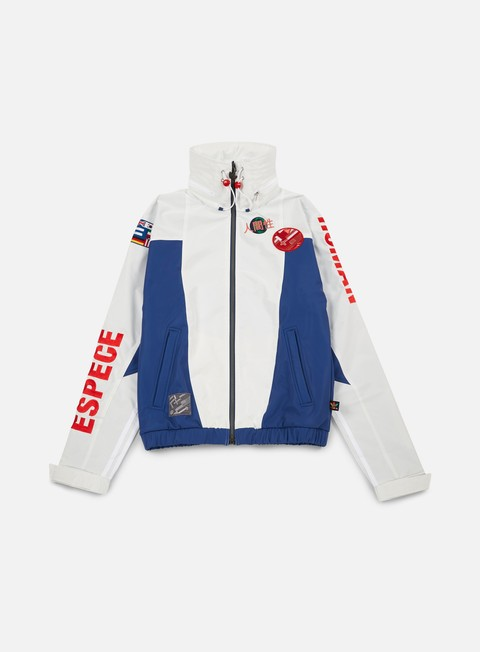 giacche adidas originals pharrell williams hu race fz jacket white scarlet