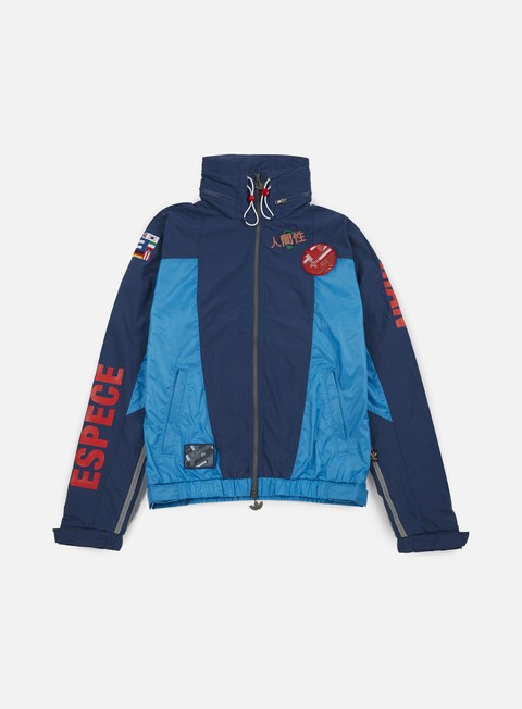 giacche adidas originals pharrell williams hu race fz windbreaker night marine sharp blue