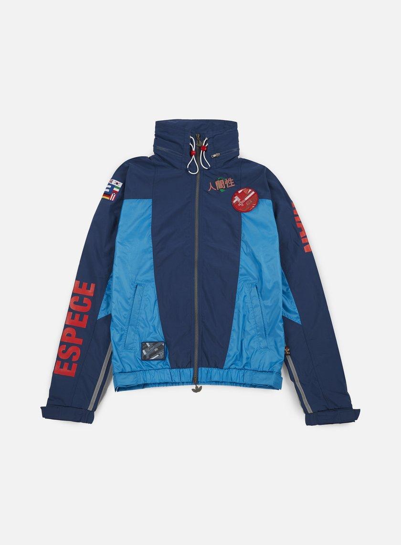 Adidas Originals - Pharrell Williams Hu Race FZ Windbreaker, Night Marine/Sharp Blue