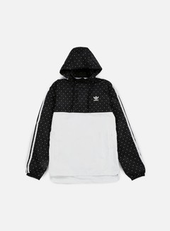 Adidas Originals - Pharrell Williams Hu Race Woven Windbreaker, Black/White 1