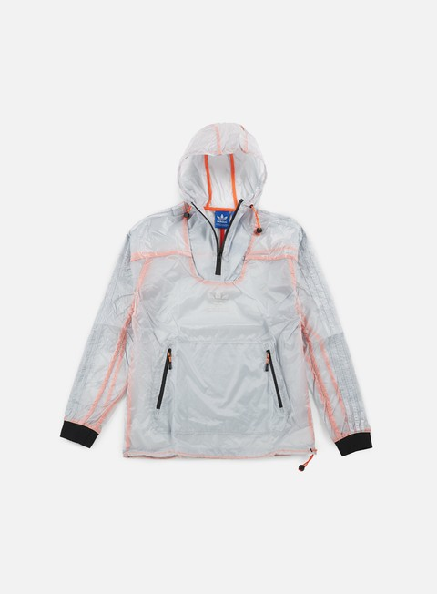 giacche adidas originals running windbreaker white