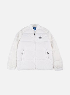 Adidas Originals - SST Down Jacket, White