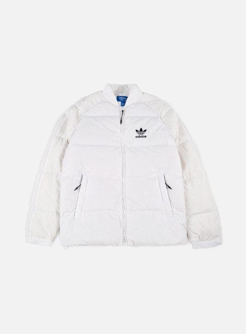 giacche adidas originals sst down jacket white