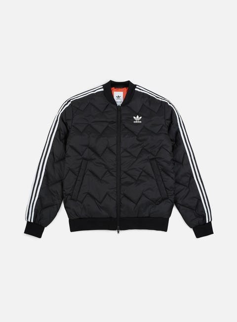 giacche adidas originals sst quilted jacket black