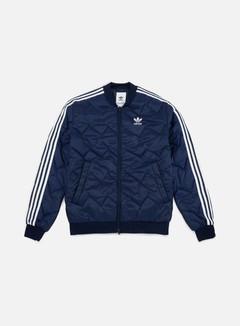 Adidas Originals - SST Quilted Jacket, Collegiate Navy