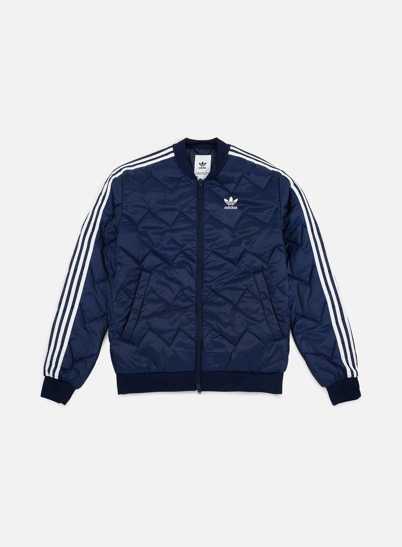 Alicia de ahora en adelante Pertenecer a  Adidas Originals SST Quilted Jacket Men, Collegiate Navy | Graffitishop