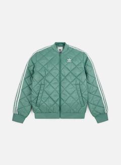 Adidas Originals - SST Quilted Jacket, Vapor Steel