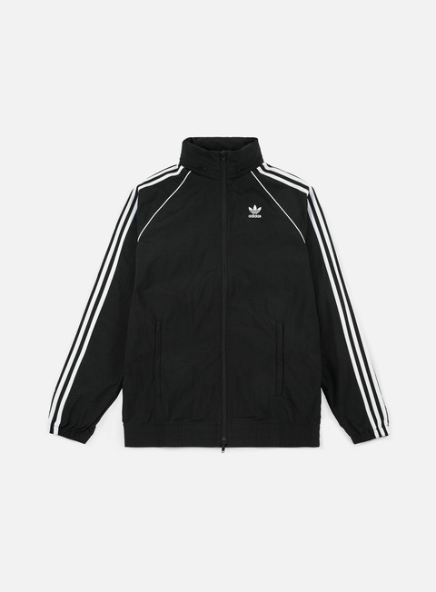 giacche adidas originals sst windbreaker black