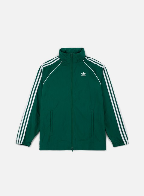 giacche adidas originals sst windbreaker collegaite green