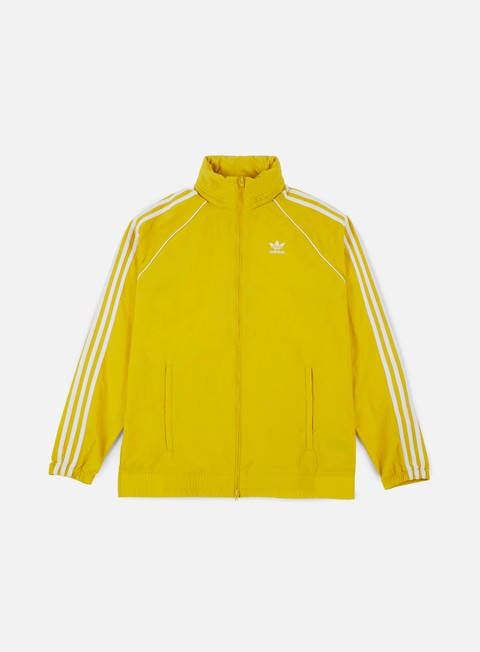 giacche adidas originals sst windbreaker tribe yellow