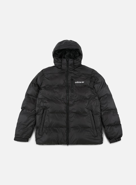 giacche adidas originals st petersburg hooded jacket black