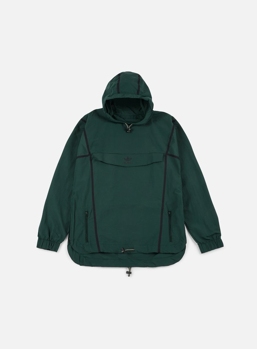 Adidas Originals - Taped Anorak Jacket, Green Night