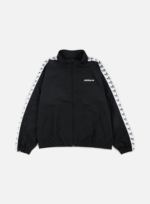 giacche adidas originals tnt trefoil windbreaker black white