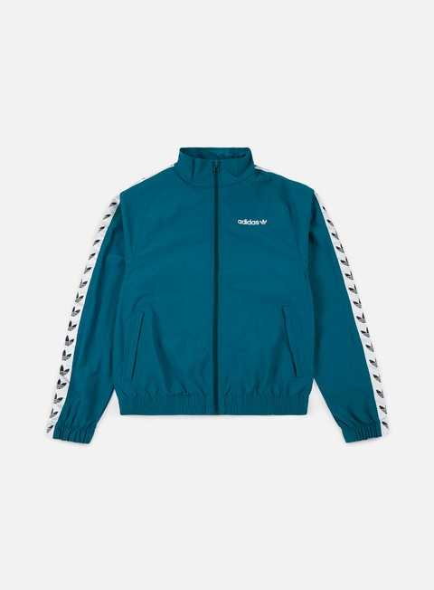 giacche adidas originals tnt trefoil windbreaker real teal