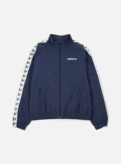 Adidas Originals - TNT Trefoil Windbreaker, Trace Blue/White