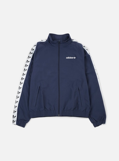 giacche adidas originals tnt trefoil windbreaker trace blue white