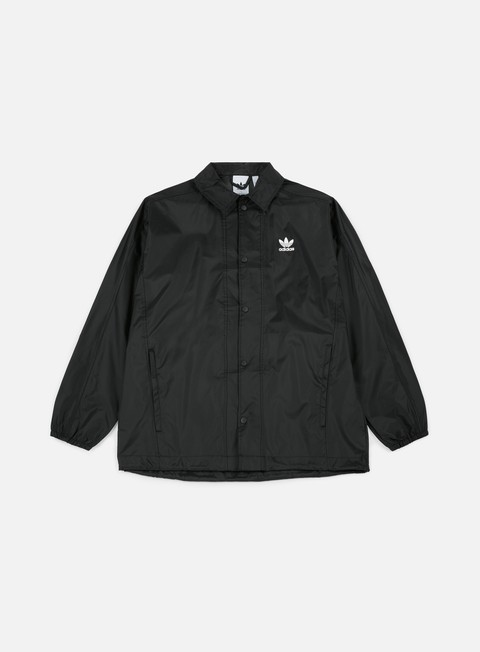 giacche adidas originals trefoil coach jacket black