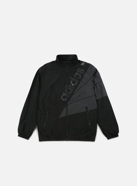 giacche adidas originals tribe track top windbreaker black