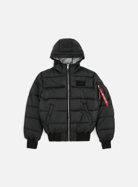 Down Jackets Alpha Industries Hooded Puffer FD V Jacket