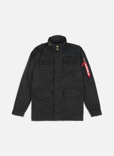giacche alpha industries huntington jacket black