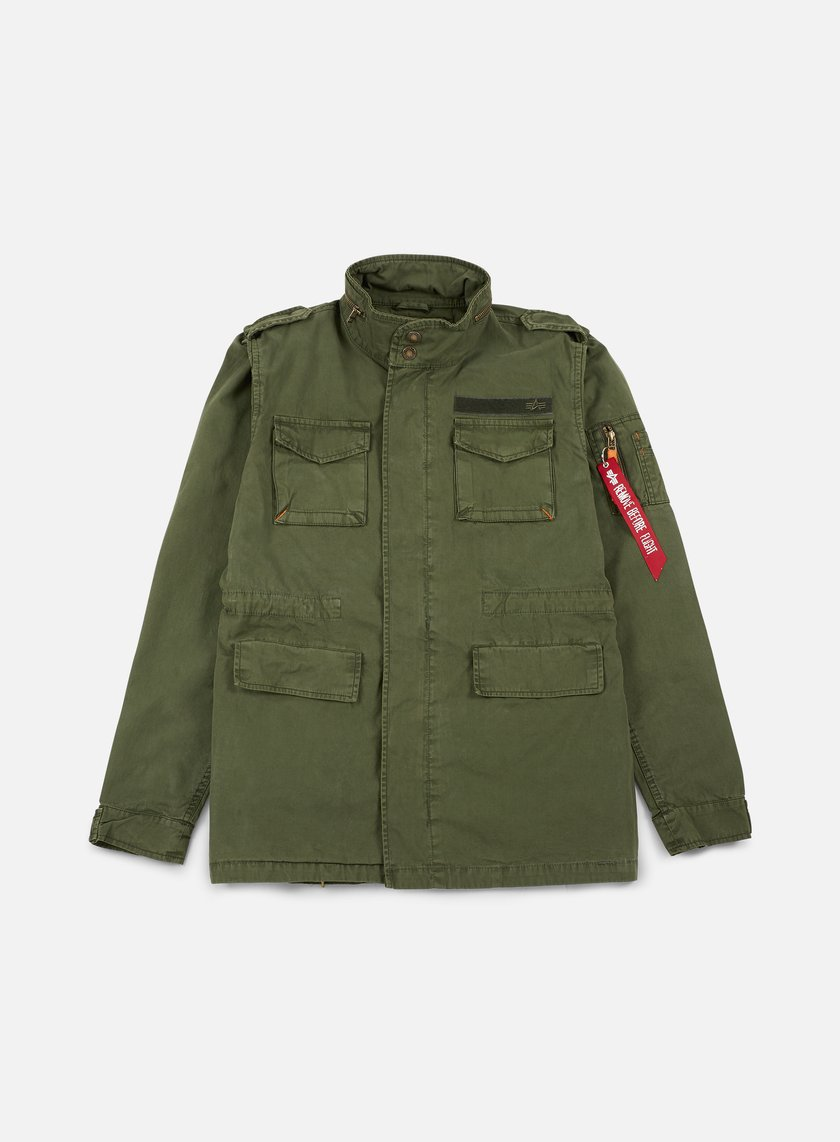 Alpha Industries - Huntington Jacket, Dark Olive