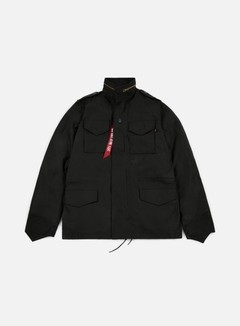 Alpha Industries - M-65 Heritage Jacket, Black 1