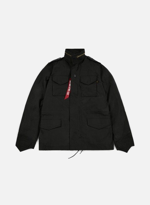 giacche alpha industries m 65 heritage jacket black