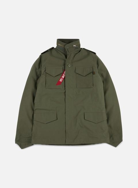 Outlet e Saldi Giacche Invernali Alpha Industries M-65 Heritage Jacket