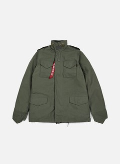 Alpha Industries - M-65 Heritage Jacket, Olive 1