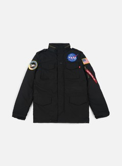 Alpha Industries - M-65 Heritage NASA Jacket, Black 1