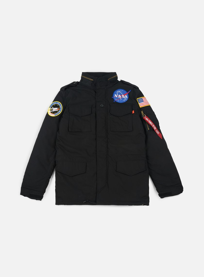 Alpha Industries - M-65 Heritage NASA Jacket, Black
