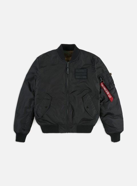 Winter Jackets Alpha Industries MA-1 FLC Reversible Jacket