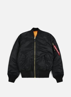 Alpha Industries - MA-1 Flight Jacket, Black