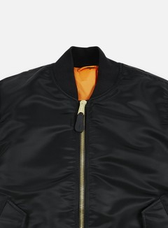 Alpha Industries - MA-1 Flight Jacket, Black 6