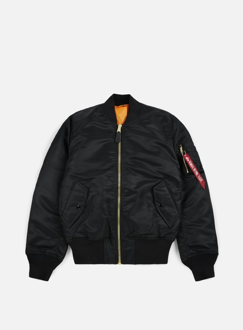 giacche alpha industries ma 1 flight jacket black