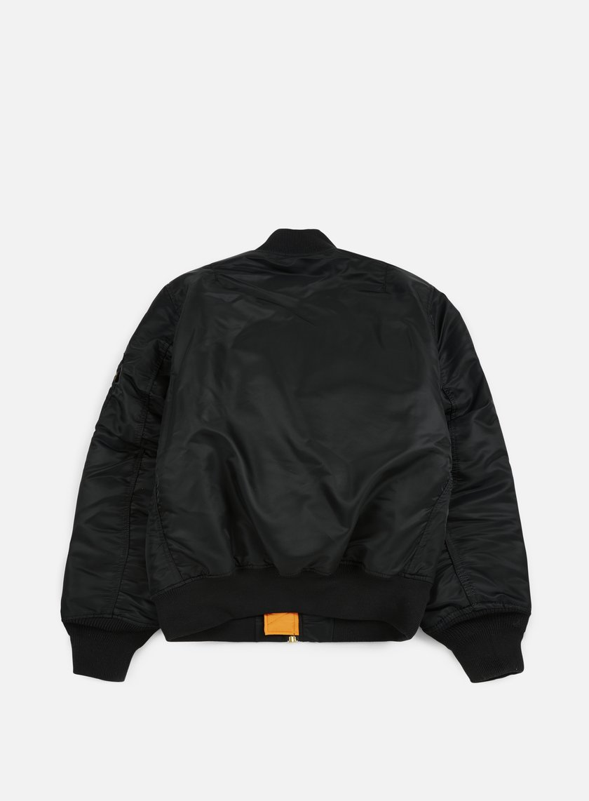 ALPHA INDUSTRIES - MA-1 Flight Jacket, Black € 159,00 - 100101-03 ...