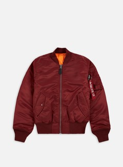 Alpha Industries - MA-1 Flight Jacket, Burgundy 1